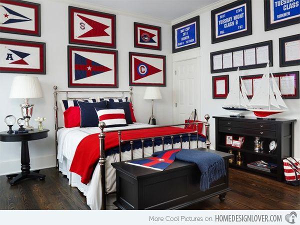 The 25+ best Nautical theme bedrooms ideas on Pinterest | Sea ...