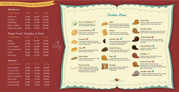 Pene Poasong's Lovely Cookies 2014 Series