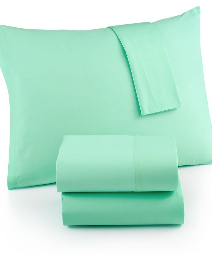 Martha Stewart Whim Collection Solid 200 Thread Count King Sheet Set, Only at Macy's