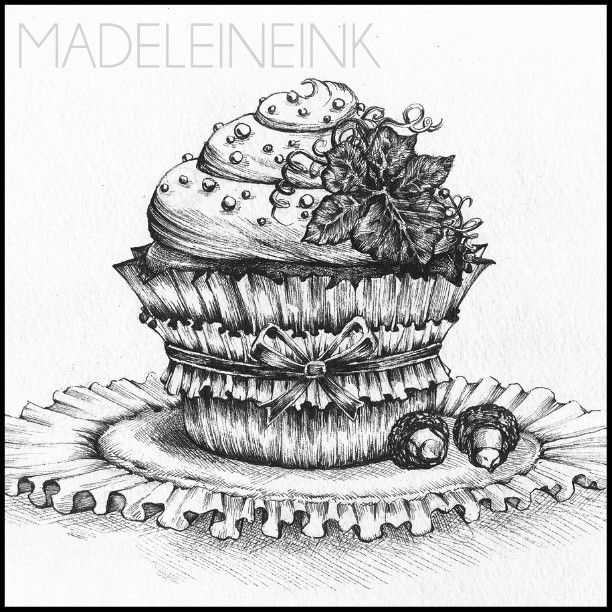 Where are my pumpkin spice fans? :) here's an autumn inspired cupcake with pumpkin lea... | Use Instagram online! Websta is the Best Instagram Web Viewer!