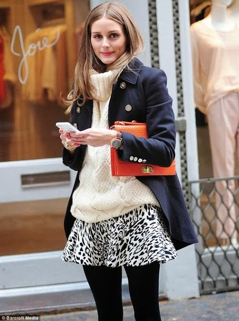 Street style queen Olivia Palermo layers her fall staples like a pro.