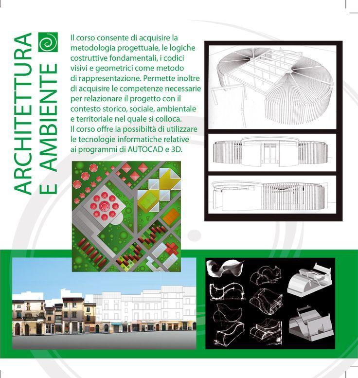 """Ind. Architettura e ambiente, Depliant (partic.), a.s.2010/11. Archivio Liceo artistico """"Stagio Stagi"""" Pietrasanta (LU)."""