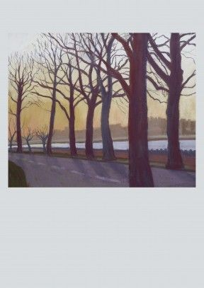 Thames at Battersea by Sue Campion RBA | Art Card Discount code to get 10% off --> SCRTZZGL