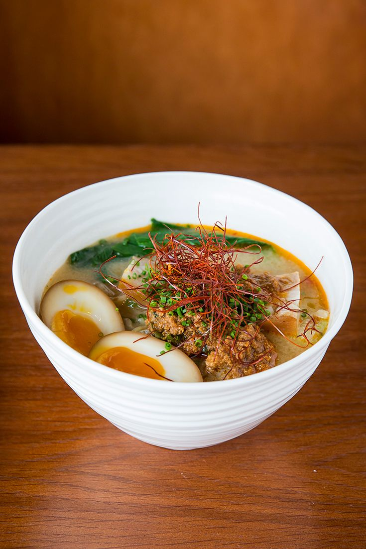 At Salaryman, ramen has been elevated to an art form.