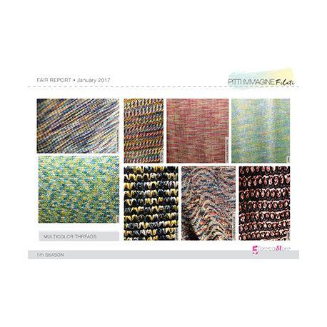Fashion Fair Report - Pitti Filati - SS18 Multicolor yarns