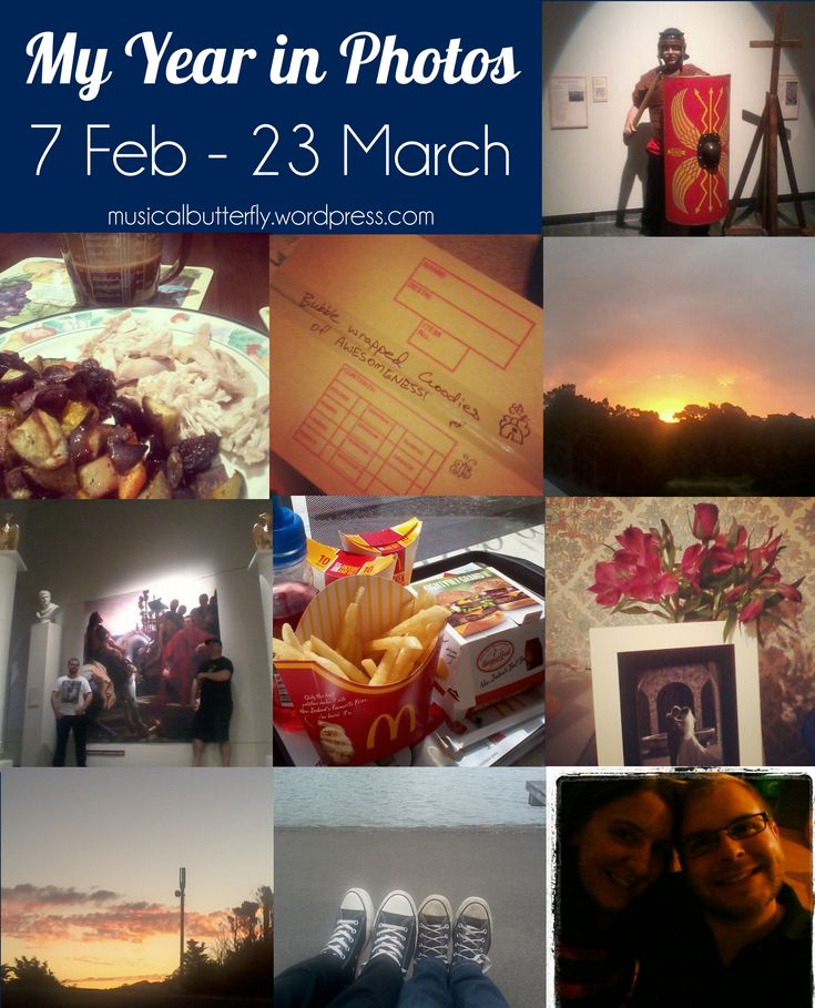 My Year in Photos: 7 Feb - 23 March #instagram #takeasmanyphotosaspossible