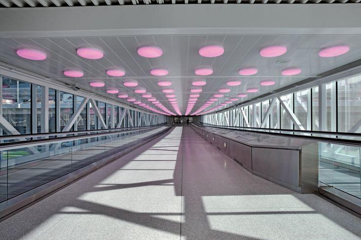 Hunter Douglas Wide Panel Metal Ceilings. #architecture #metalceilings #hunterdouglas