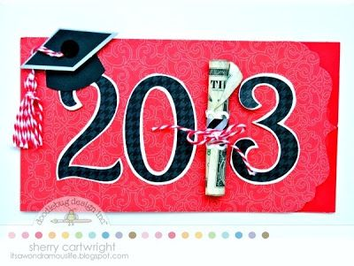 Graduation Card ideas from Doodlebug Designs