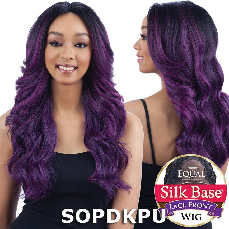 Shake-N-Go FreeTress Equal Premium Futura Synthetic Hair Silk Base Realistic Natural Looking Lace Front Wig - TERESA