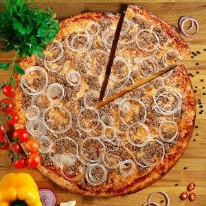 Заказать пиццу с тунцом