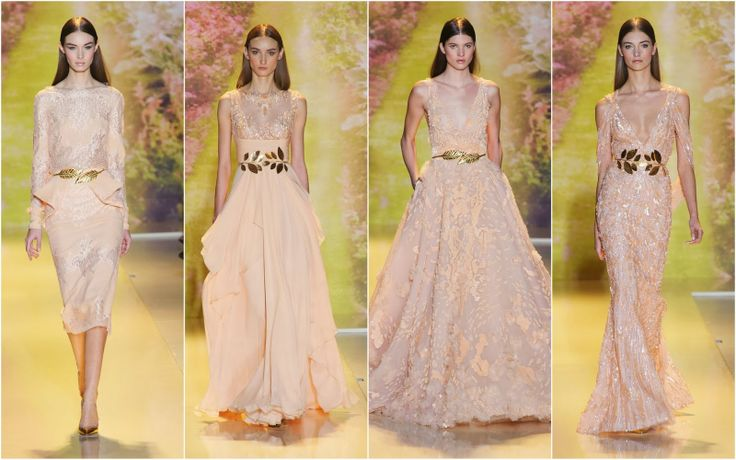 Coral -Beautifully Fierce!: Paris Haute Couture: Spring 2014 Color Trends.