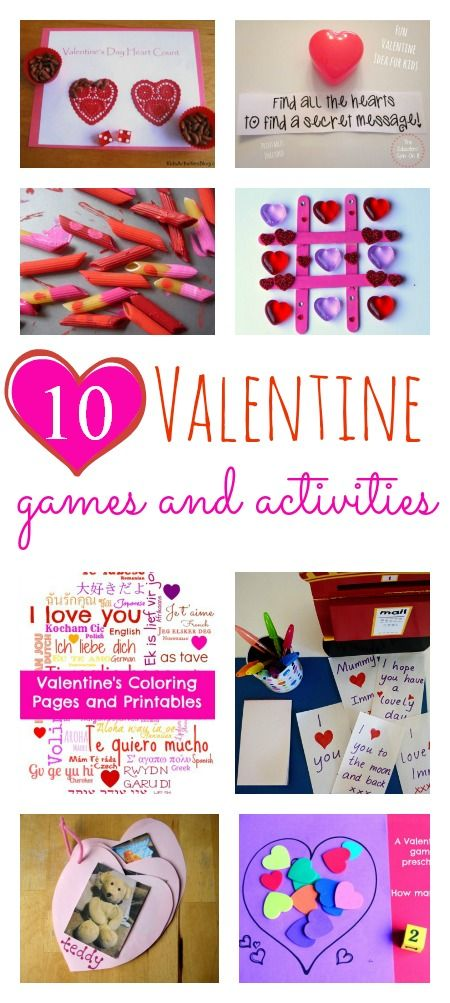 Great Valentine's Day-themed games and activities for kids