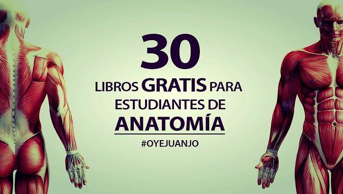 Google Books y la Biblioteca Miguel de Cervantes nos ofrece esta colección gratuita de 30 libros digitales para estudiantes de Anatomía, Biología y Medicina.