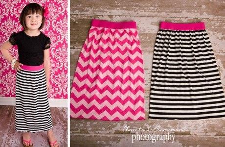 For the girls-Little girls maxi skirt