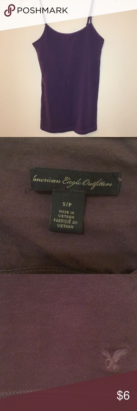 American Eagle Outfitters purple cami BRAND NEW 💜 American Eagle Outfitters purple cami BRAND NEW 💜 Never has been worn. American Eagle Outfitters Tops Camisoles
