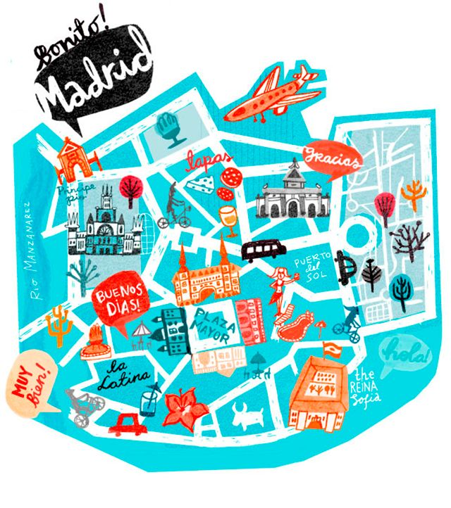 Mery's Notebook: Los mapas de Cathrine Finnema