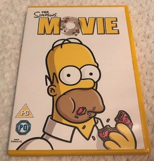 Only 1 44 The Simpsons Movie Dvd 2007 Fast Free Postage The Simpsons Movie