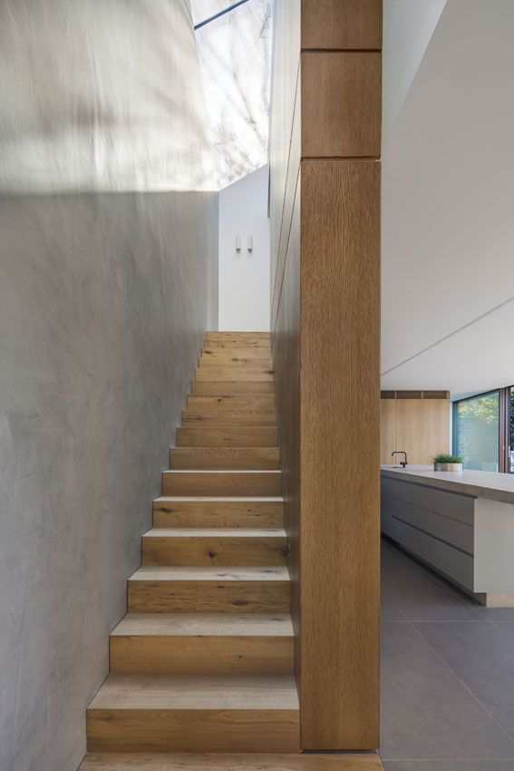 Birchgrove Project: Timber Stairwell