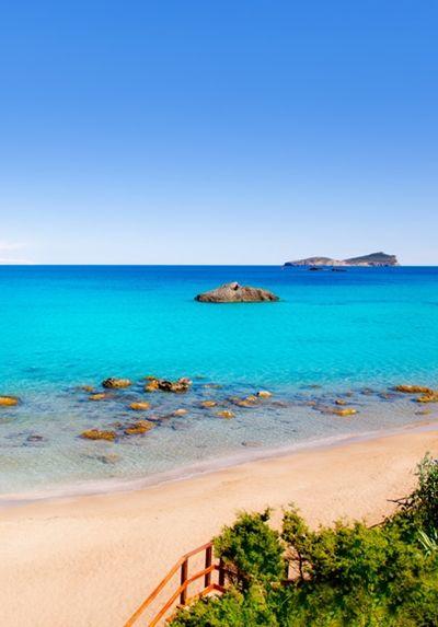 Agua Blanca Beach, Ibiza, Spain