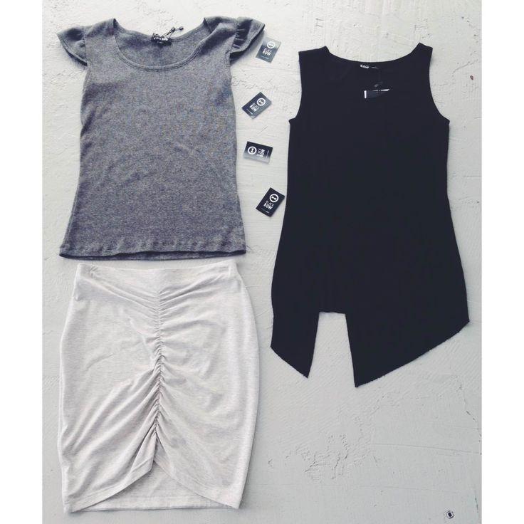 Tydzień z Black Bow w Forum Mody. #blackbow #forumody #fashion #grey  #black #skirt #top #dress #style