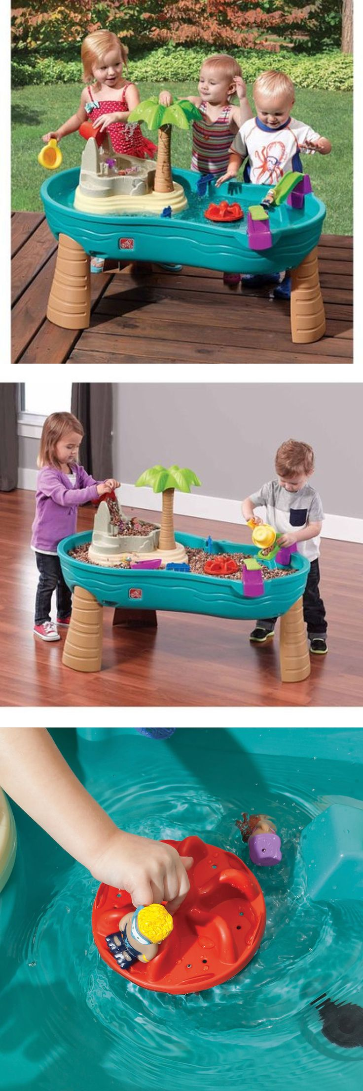 Step 2 52344: Water Play Table For Kids Toddlers Plastic Splish Splash Seas Toy Set In Outdoor -> BUY IT NOW ONLY: $98.99 on eBay!