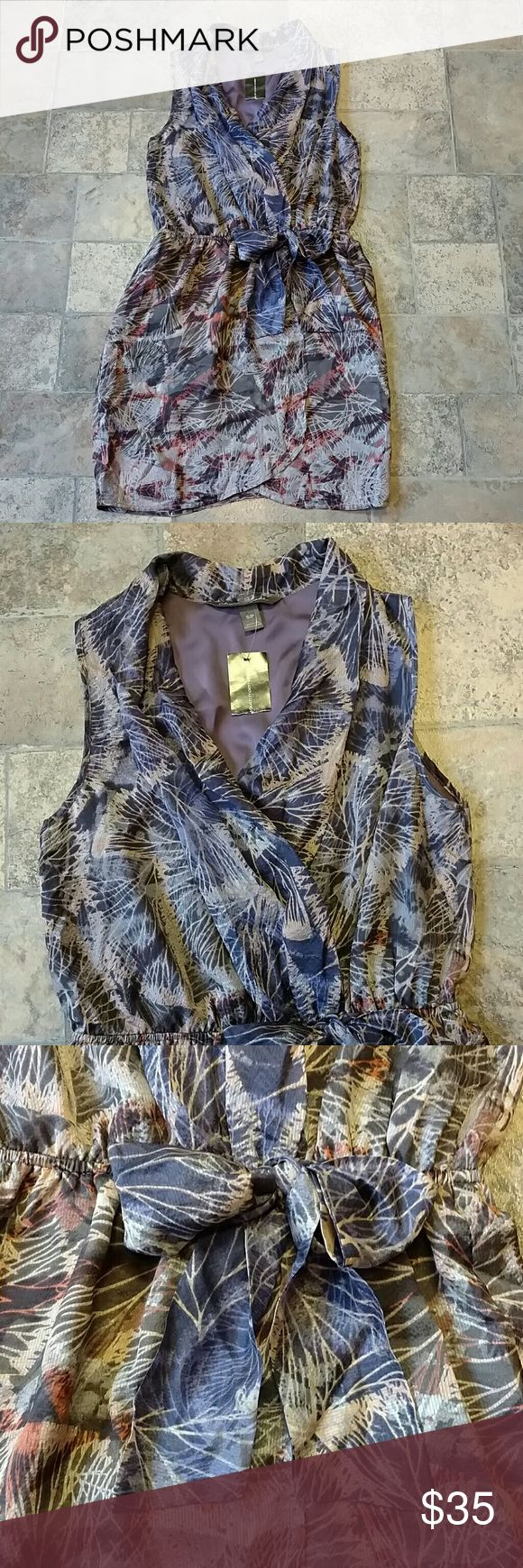 "BNWT! Charlie Jade gorgeous silk dress * Brand New * Charlie Jade * South Moon Under * Gorgeous silk wrap dress * Thin elastic band at waist * Size S/P * Measures 17"" across bust, but is a little forgiving due to the wrap front * Length is 34"" * Body: 100% silk * *Lining: 100% polyester * Any questions, just ask! Charlie Jade Dresses"