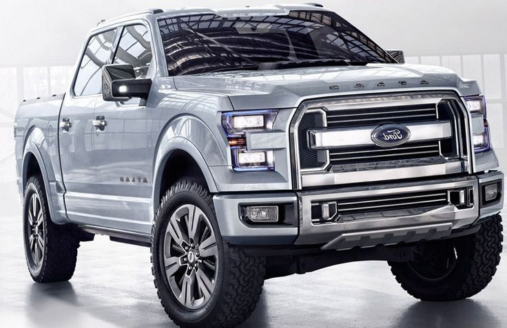 If I had to pick one vehicle in the world. It would be the Ford Atlas.
