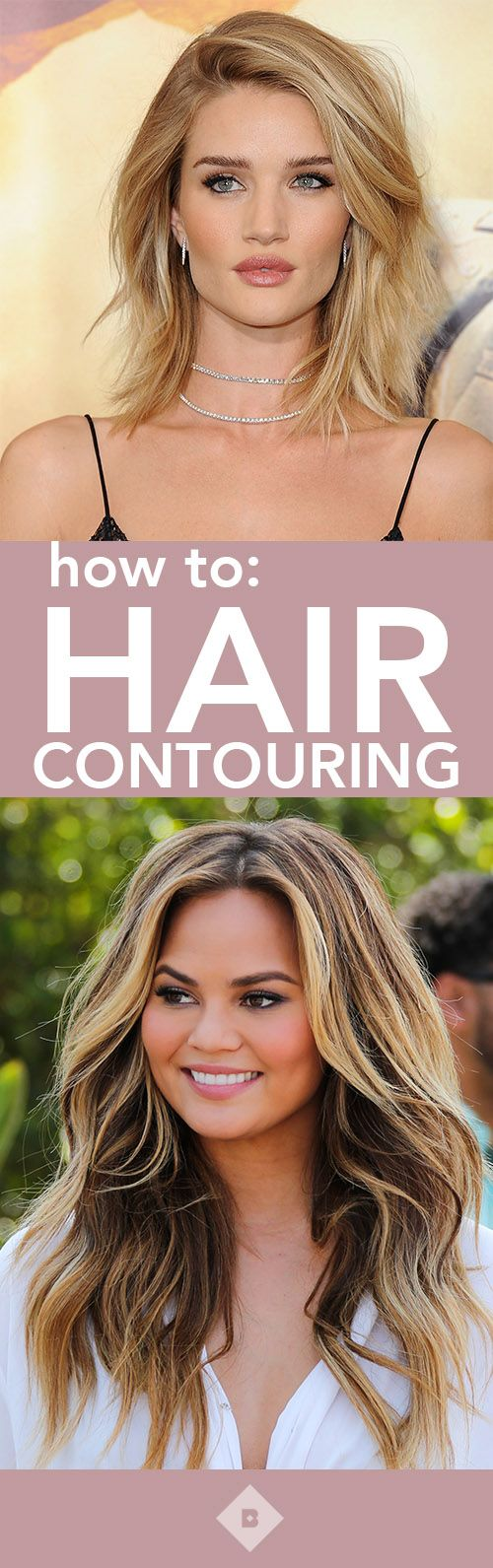There's a new trend in town: hair contouring, and you're probably already doing it! Click through to learn more.