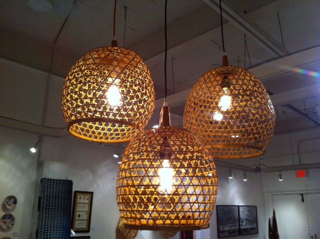 Woven baskets wired and repurposed as pendant fixtures in our showroom! & 24 best African Lighting images on Pinterest | Overalls Mango and ... azcodes.com