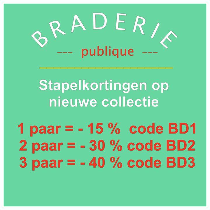 Vier dagen lang staan we als jaarlijkse gewoonte met een kraampje voor de deur van onze winkel te Gent. Dit met ronde prijzen op onze laatste outlet artikelen & stapelkortingen op de nieuwe collectie.