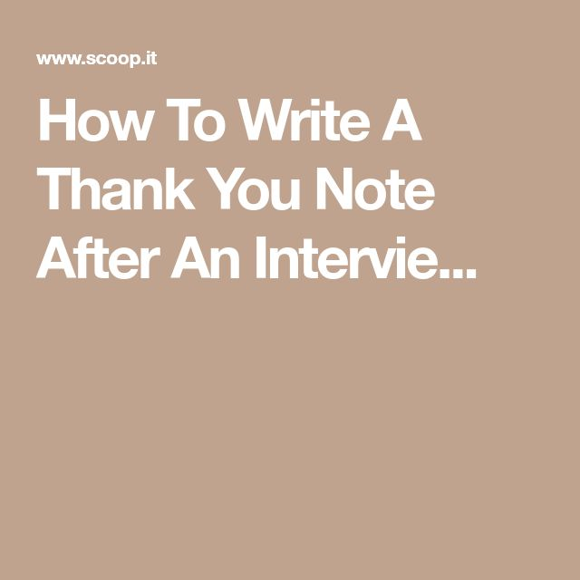 Best 25+ Thank you after interview ideas on Pinterest Resume - Thank You Letter After Job Interview