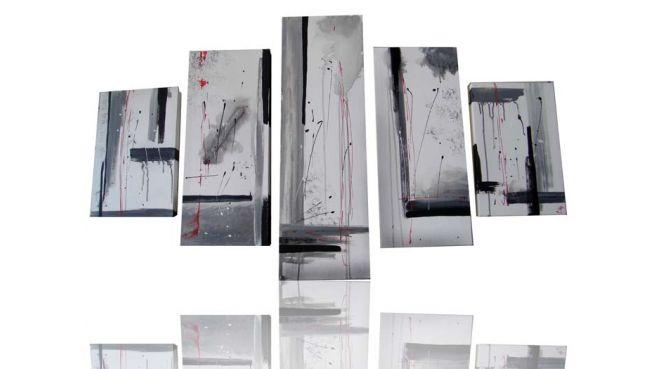 "Cuadro moderno ""Heridas"" oleo.  Painting wall. Oil. Acrilyc. Abstract"