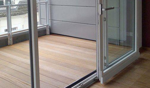 Раздвижные портальные двери на балкон