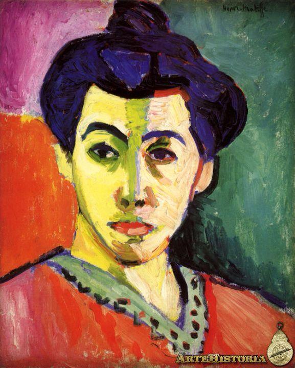 Matisse, La raya verde (1905)