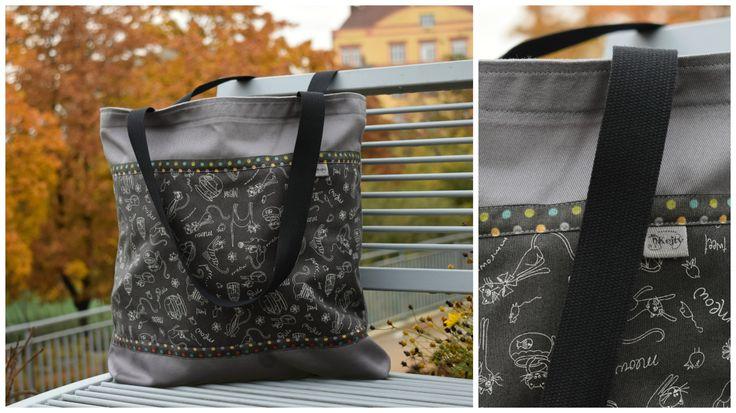 <3 nákupní taška No.5 <3