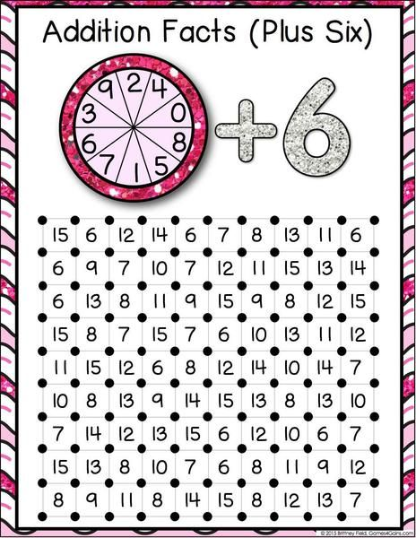 Addition 'Squares' Game contains 12 fun and engaging addition games to help students practice their addition facts. Each one-page addition game gets students pr