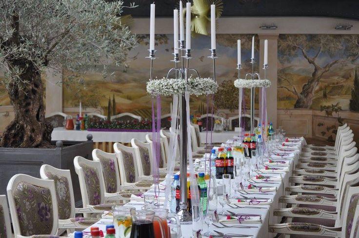 Dekoracja stołu weselnego.Wedding inspiration