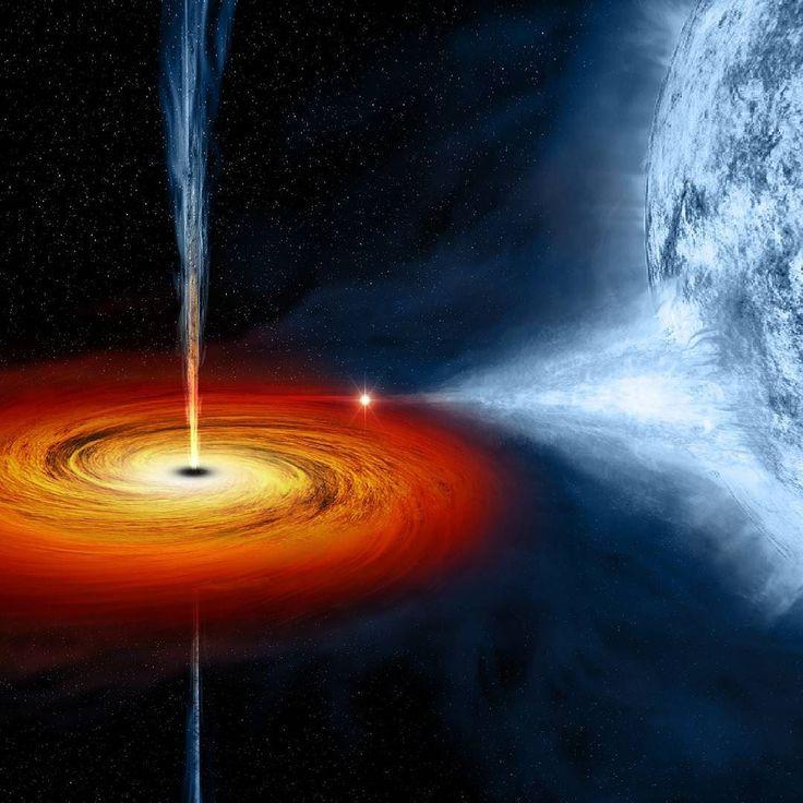 provocative-planet-pics-please.tumblr.com Cygnus X-1 Cygnus X-1 ist ein Röntgendoppelstern im Sternbild Schwan (lat. Cygnus). Der Name Cygnus X-1 ergibt sich daraus dass es sich hierbei um das erste entdeckte Röntgenobjekt (engl. X-ray) im Sternbild Cygnus handelt. Bei Cygnus X-1 handelt es sich um einen Röntgendoppelstern. Das bedeutet dass hier zwei Objekte einander umkreisen und dabei sehr viel Röntgenstrahlung erzeugen. Das weiß man schon seit den 1960er Jahren als die ersten…