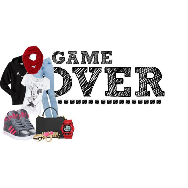 """""""Game Over"""" by pritasafitri on Polyvore"""
