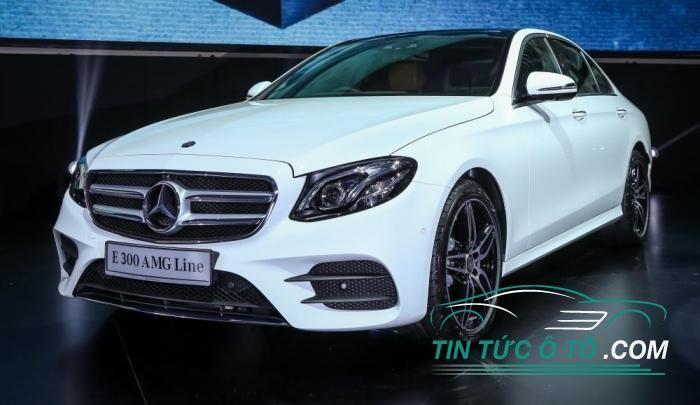 Mercedes Benz E300 2017 sẵn phụ kiện AMG Line giá 2,53 tỷ đồng