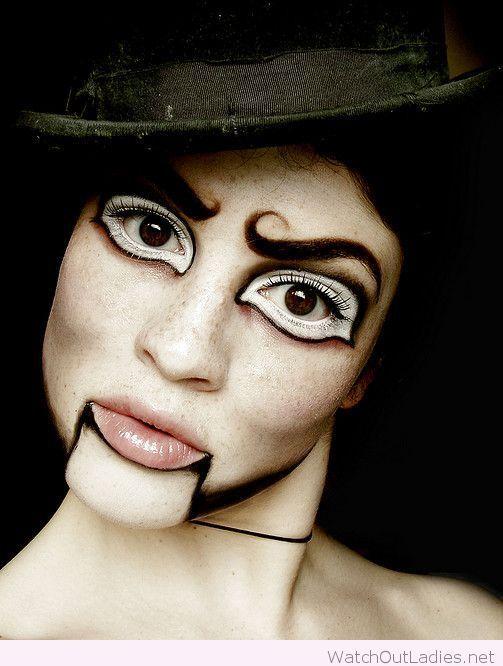 Doll makeup inspiration for Halloween