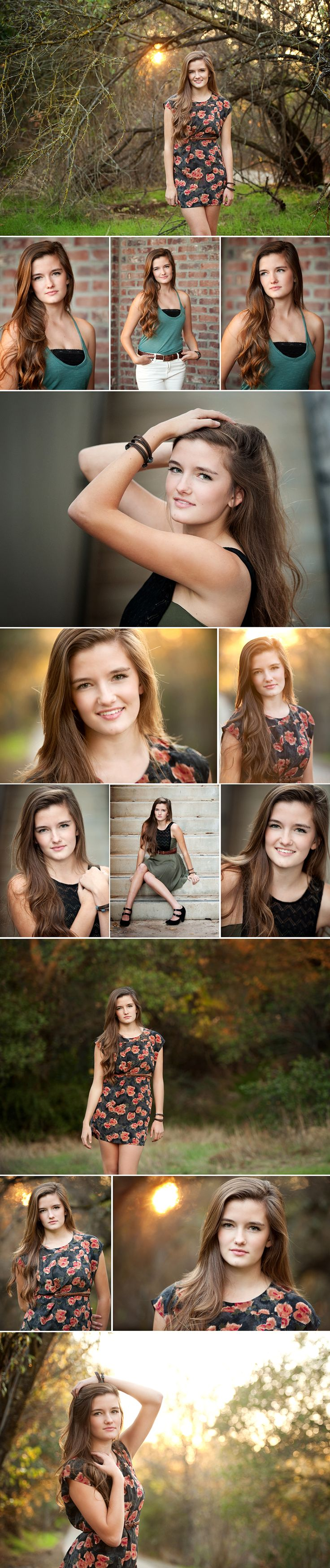 Hats off to Megan Squire - a wonderful compilation of poses leading to top notch Senior portraits.