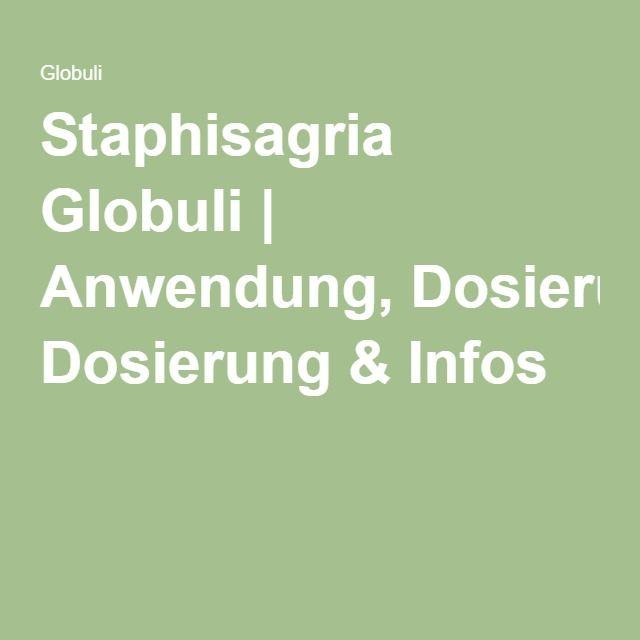 Staphisagria Globuli   Anwendung, Dosierung & Infos Globulis von A-Z