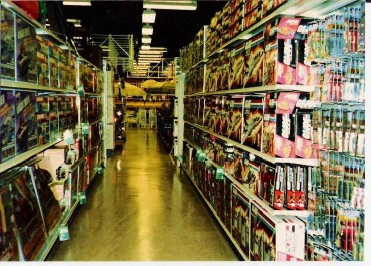 Boy Toys Toys R Us Aisles : Vintage toy store aisle g i joe s toys pinterest