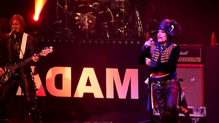 Adam Ant - Ant Music - Roundhouse, London - December 2016
