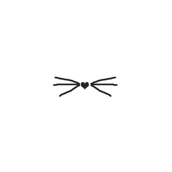 Maybe my next tattoo, in white, on my wrist, incorporated into my scar from my white kitten...