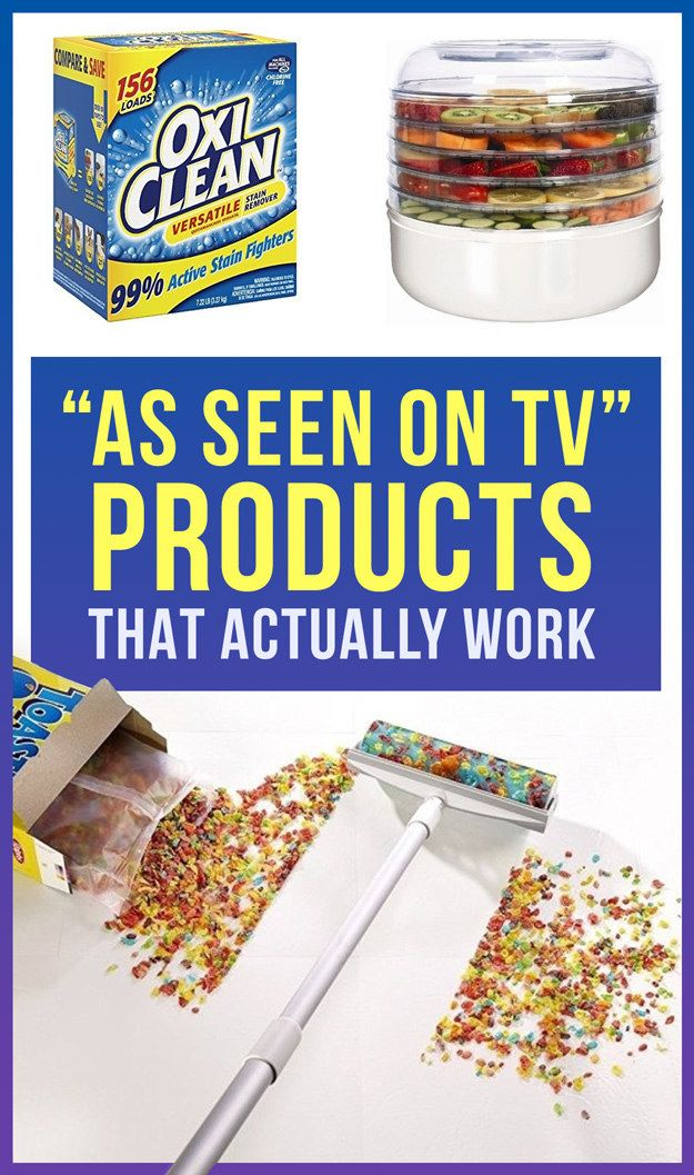 """As Seen on TV"" products that actually work - Buzzfeed - the mini snake does work pretty well and we have the dehydrator too thats pretty awesome too."