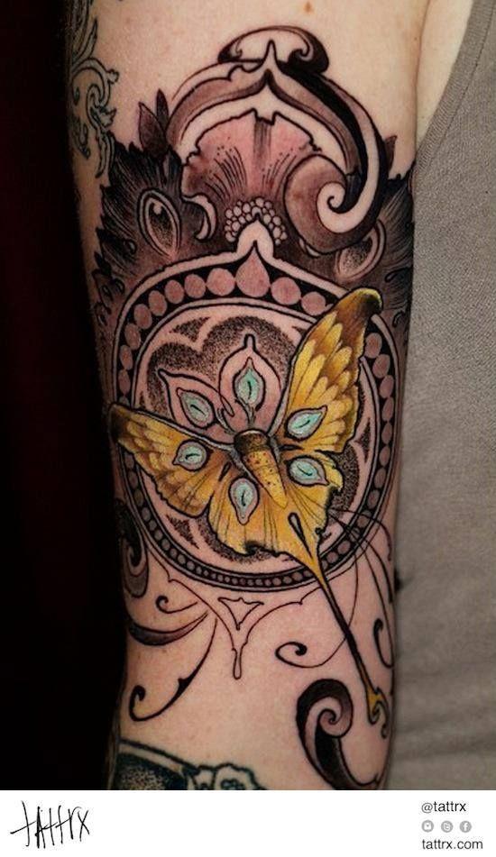 Art Nouveau Flower Tattoo: 602 Best Images About My Tattoo Ideas On Pinterest