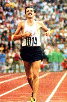 Frank Shorter, 1972 Olympic Marathon champion.