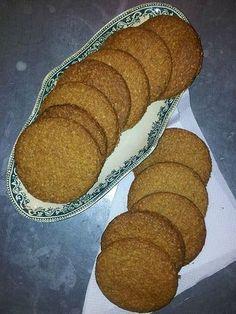 recette de biscuits aux flocons d'avoine (style Mc Vities)